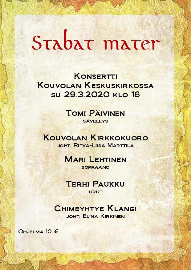 Stabat Mater -konsertti